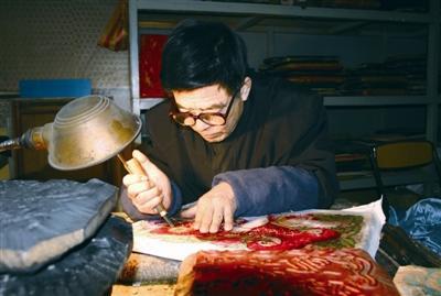 非遗传承人任鹤林:这一辈子,就活给了木版年画