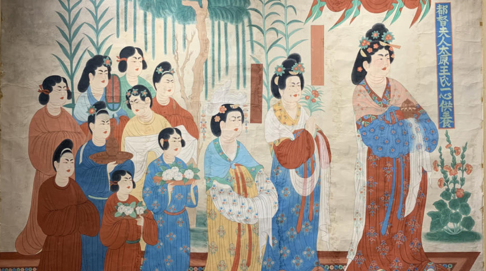 90幅敦煌绘画精品金城开展(组图)