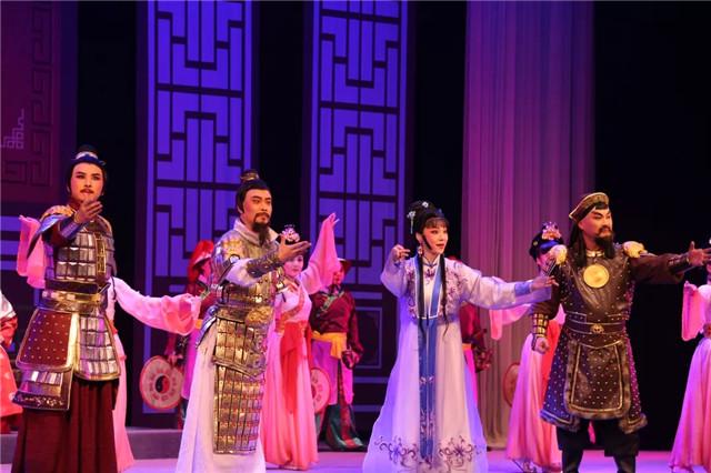 国家级非遗项目大型历史高山戏《米仓魂》隆重首演