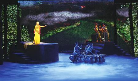 原创情景歌舞剧《黄河之上·多彩白银》将于6月5日在兰州音乐厅推介演出