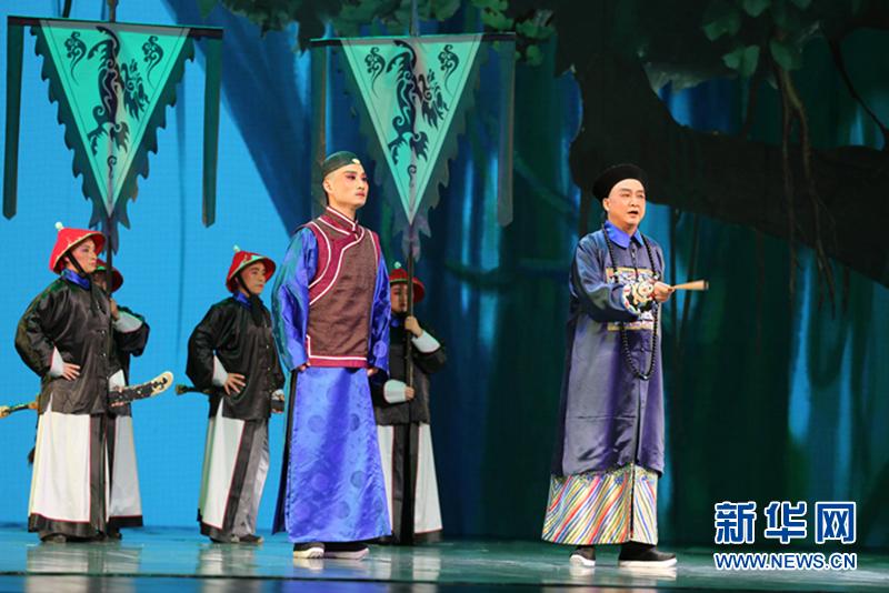 第八届中国秦腔艺术节在兰州开幕