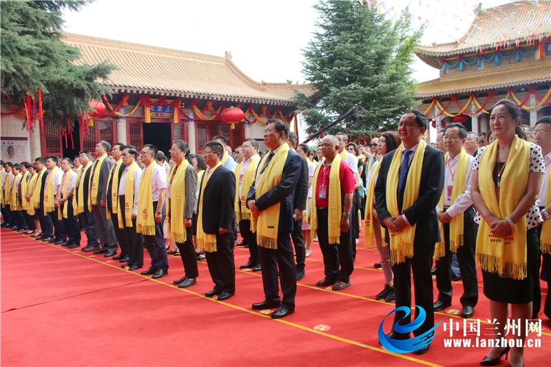 第六届海峡两岸谒礼华夏母亲(西王母)仪式在甘肃(泾川)举行