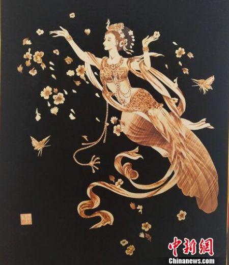 甘肃通渭传承千年麦秆工艺