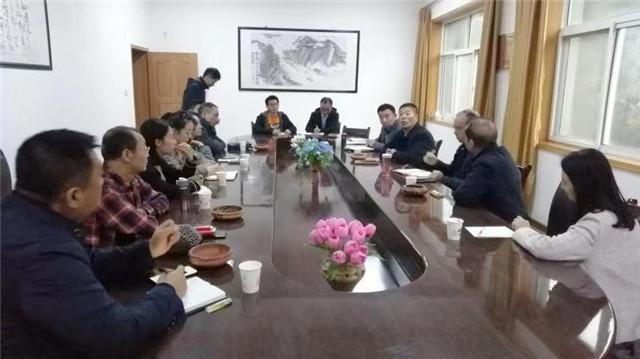 天水市文旅局调研峡门风情小镇项目和汉唐陶艺公司