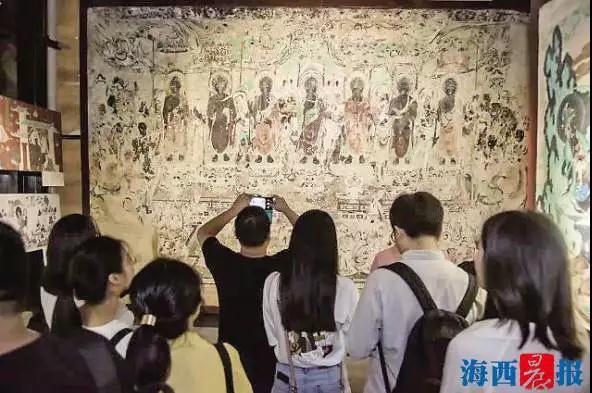 40件展品现敦煌神韵 海峡两岸文博会打造全城文化盛宴