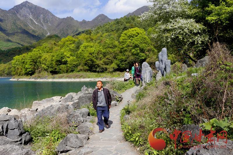 陇南文县天池景区综合开发项目一期工程开工