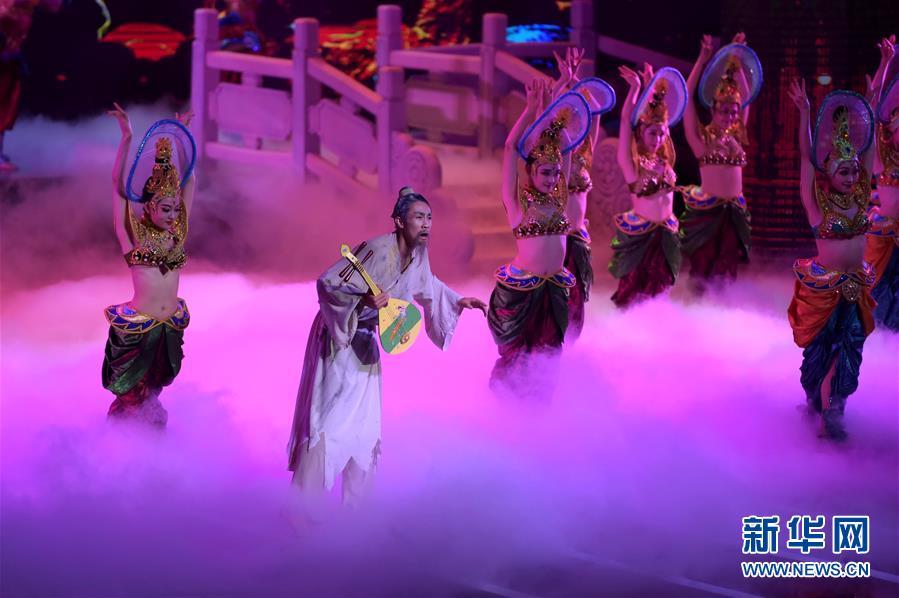 (文化)(6)甘肃纪念经典舞剧《丝路花雨》创演40周年