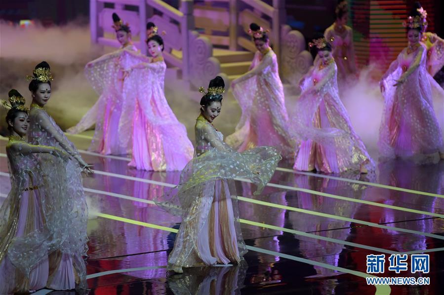(文化)(7)甘肃纪念经典舞剧《丝路花雨》创演40周年