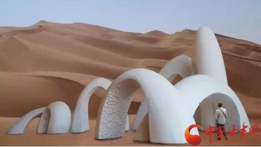 2019中国·民勤第二届沙漠雕塑国际创作营下月中旬开幕(图)