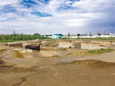 记者走进武威海藏遗址 触摸3700年前的齐家文化