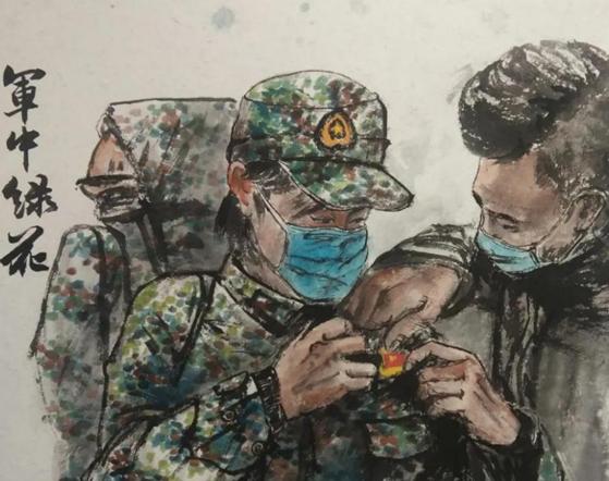 """【艺术战""""疫""""】甘肃文旅•定西︰美术作品"""