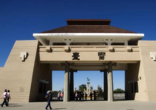 武威雷台景区文化旅游综合体项目复工建设