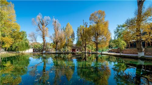 【打开乡村之美 点亮富裕之光】戈壁明珠 绿色生态乡村游