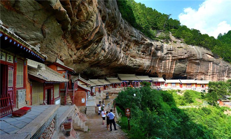 天水仙人崖、石门景区恢复开放