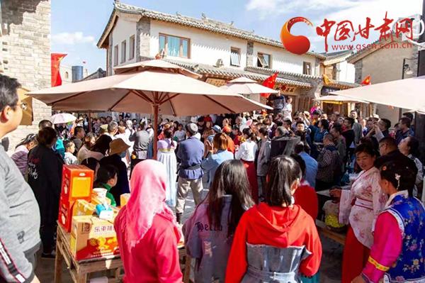"""近10万游客来兰州新区""""粽""""享欢乐 端午节期间实现旅游收入4561.2万元"""