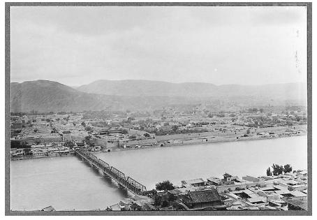 1904年兰州大洪水,冲断镇远浮桥,促成黄河铁桥修建
