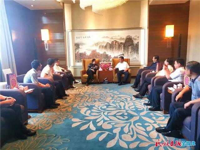 临夏州委书记一行到河南郑州考察文旅项目