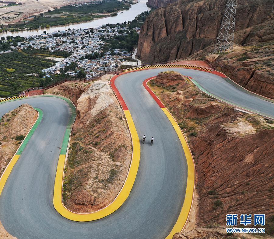 穿越丝绸之路(国际)山地自行车多日赛首站收官