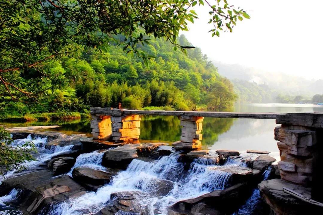阳坝:北国江南的康养小镇