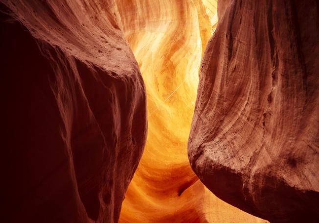 来庆阳黑河大峡谷,触摸鬼斧神工的自然美景!