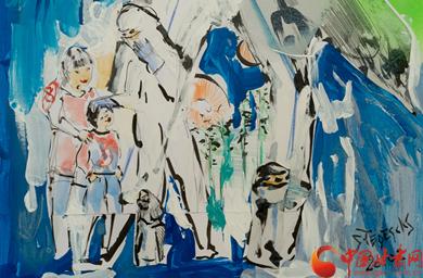 【甘快看】国外友城青少年用画作为甘肃抗疫加油