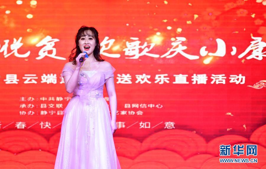 """甘肃静宁:线上""""文化年货""""惠居民"""