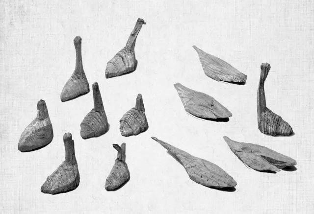 """深藏地下两千年 武威古墓有一群""""悠然自在""""的鹅"""