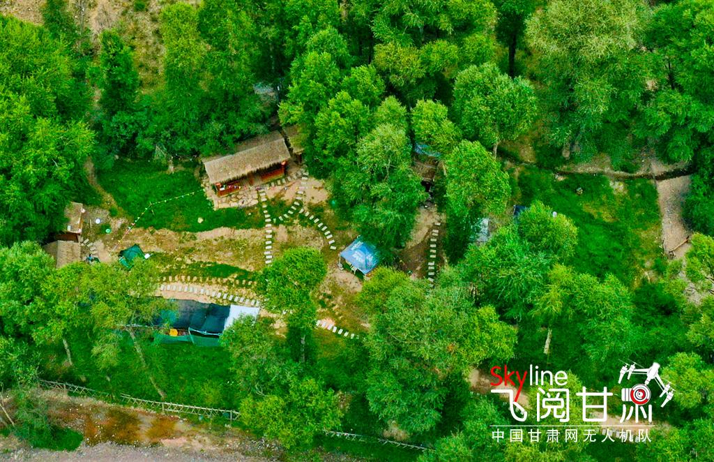 肃南西柳沟 生态美景引游客