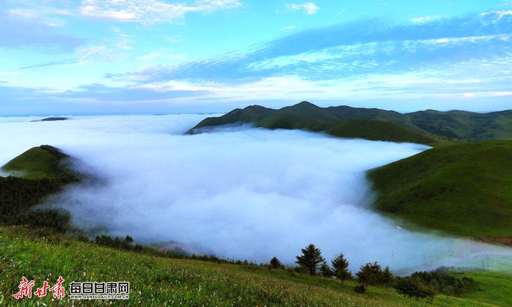 巍巍木寨岭,云雾缭绕似仙境