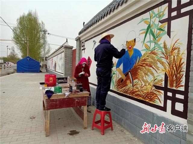 """嘉峪关市文殊镇河口村:打造""""美善河口""""亮丽名片"""