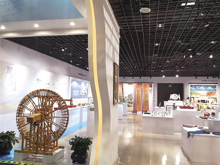 兰州馆惊艳敦煌国际会展中心 三个展区尽显兰州文化底蕴
