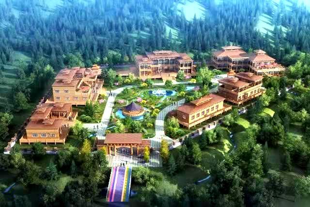 甘南州合作市当周林卡高端民宿项目开工